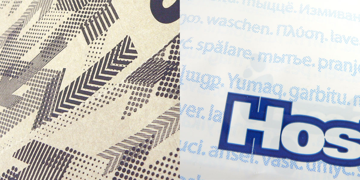 Shading in Flexographic printing must be simulated using halftone patterns.